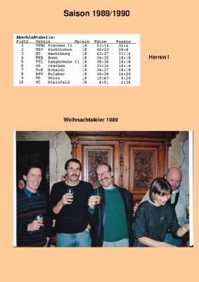 Saison 89/90