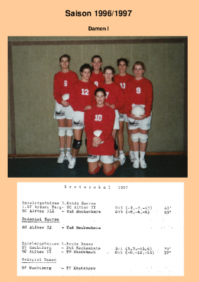 Saison 96/97